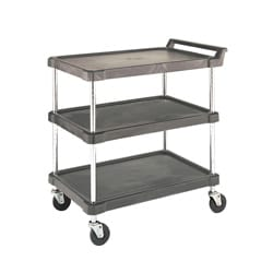 3 Shelf Polymer Utility Cart