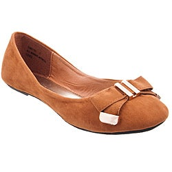 Riverberry Women's 'Sami' Chestnut Flats