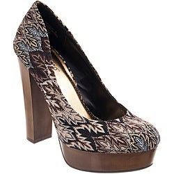 Riverberry Women's 'Zooey' Black Platform Heels