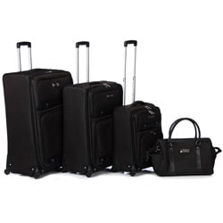 Bill Blass 'Classics' Four Piece Luggage Set