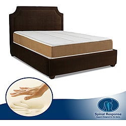 Spinal Response Aspiration 11-inch Queen-size Memory Foam Mattress