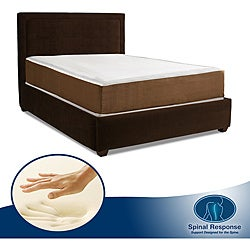 Spinal Response Serene 10-inch King-size Memory Foam Mattress