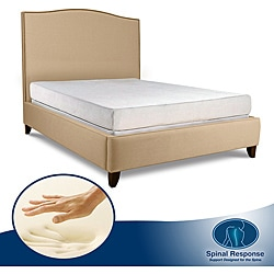 Spinal Response Select 8-inch Queen-size Memory Foam Mattress