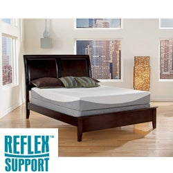 Reflex Support 12-inch Queen-size Gel Infused Memory Foam Mattress
