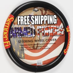 Marine 'Semper Fi' Steering Wheel Cover