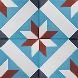 Granada Tile Echo Collection Toscano Cement Tiles (Case of 50)