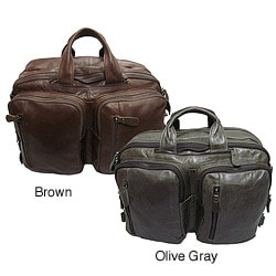 Amerileather &#39;Gabe&#39; Leather Convertible Backpack/Briefcase