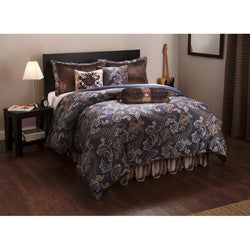 English Laundry Ashton Paisley 7-piece Duvet Cover Set