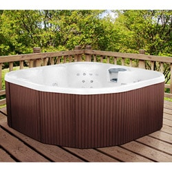Lifesmart Sierra DX Rock Solid Series Spa w/Digital Light & Ozone System