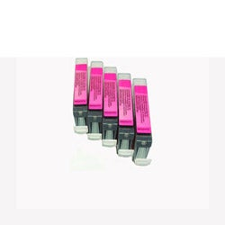 Canon CLI 8 Magenta Ink Cartridges (Pack of 5) (Remanufactured)