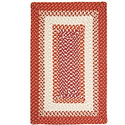 Color Market Red Accent Rug (8' x 11')