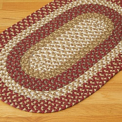 Gourmet Red Multi Accent Rug (2' x 3')