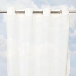 Sunbrella Bay View Sheer 84-inch Outdoor Curtain Panel