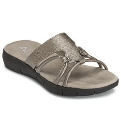 A2 by Aerosoles Women's 'Wip Current' Silver Sandals