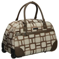 Nine West Super Sign 20-inch Wheeled Carry On Upright Bowler Bag