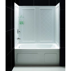 DreamLine Qwall Back Wall Tub Kit