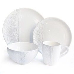 American Atelier White16 Piece Dinner Set