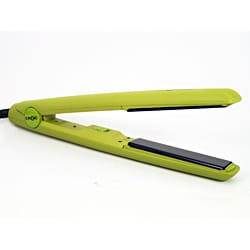 TurboIon Croc Nero 0.75-inch Green Flat Iron