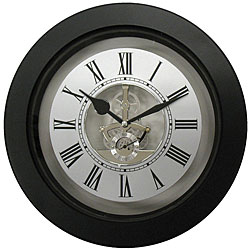 Geneva Plastic Skeleton 10-inch Wall Clock