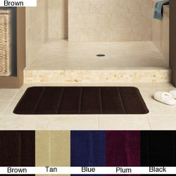 Cushion Foam 24-inch Bath Rugs (Set of 2)