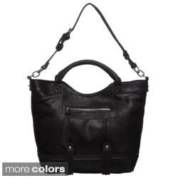 Perlina Samantha Leather Tote Bag