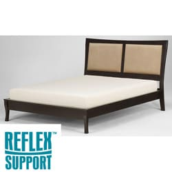 Reflex Support 12-inch California King-size Latex Foam Mattress
