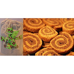 Bone Bons Organic Pinwheel Cookies Dog Treats