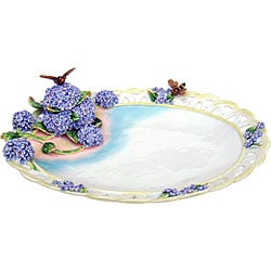 Cristiani Limited Edition Flower Bee Plate