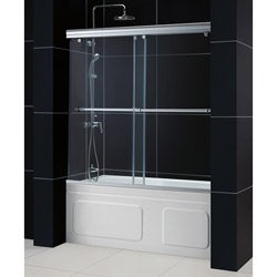 DreamLine Charisma Frameless 56-60 x 58-inch Bypass Sliding Tub Door