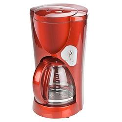Kalorik 10-Cup Candy Apple Red Coffee Maker (Refurbished)