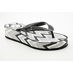 BCBGeneration Women's Fallons Black Sandals