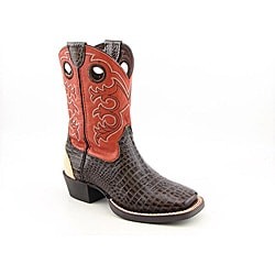 Ariat Boy's Crossfire Brown Boots