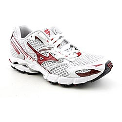 Mizuno Women's Wave Rider 13 White Athletic