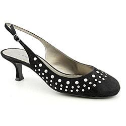 A. Marinelli Women's Kilim Black Dress Shoes