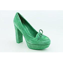 Sperry Top Sider Women's A/O Pump Green Dress Shoes