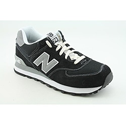 New Balance Men's ML574 Black Athletic
