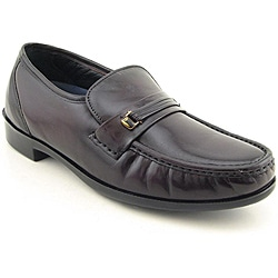 Bostonian Men's Prescott Burgundy Dress Shoes Wide