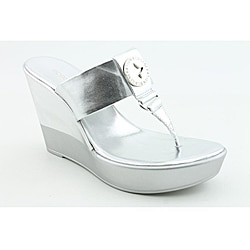 BCBGeneration Women's Quo Silver Sandals