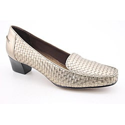 Trotters Women's Heloise Bronze Casual Shoes Narrow (Size 8.5)