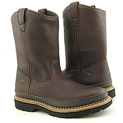 Georgia Men's G4274 Brown Boots Wide (Size 10)