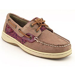Sperry Top Sider Women's Bluefish Brown Casual Shoes (Size 5)