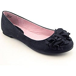 CL By Laundry Women's Go Ahead Black Casual Shoes (Size 8.5)