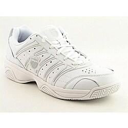 K Swiss Men's Grancourt II White Casual Shoes (Size 7.5)