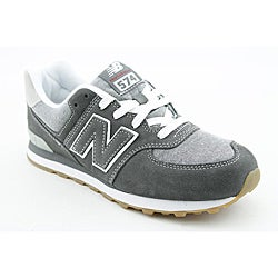 New Balance Boy's KL574 Gray Athletic