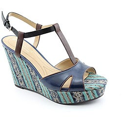 Naturalizer Women's Sherrie Blue Sandals