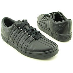 K Swiss Men&#39;s The Classic Black Casual Shoes