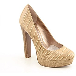 BCBGeneration Women's Jodie Beige Dress Shoes