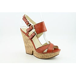 Enzo Angiolini Women's Damiana Orange Sandals