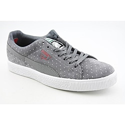 Puma Men&#39;s Clyde X Undftd Micro-Dot Gray Casual Shoes