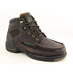 Georgia Men's Athens Brown Boots Wide